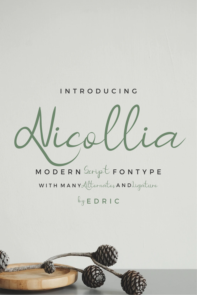 Nicollia Font