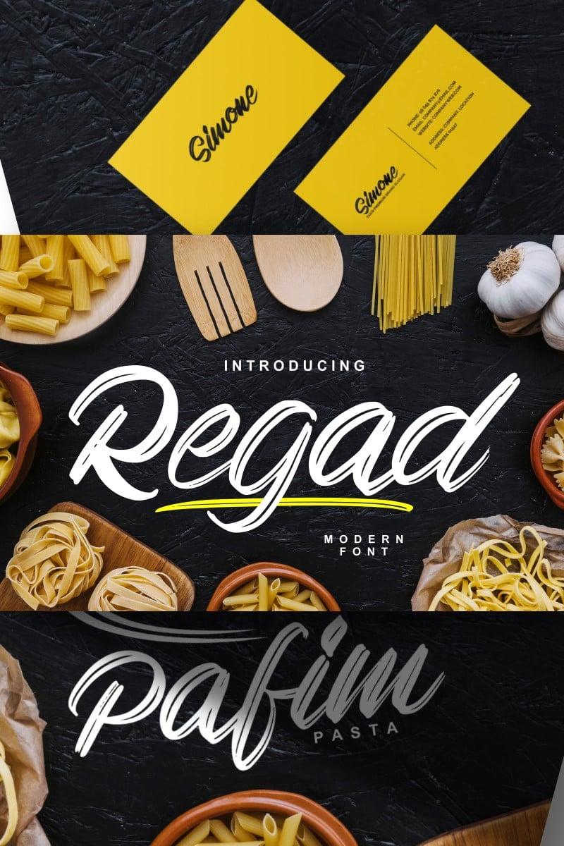 Regad | Modern Food Fonte №87458