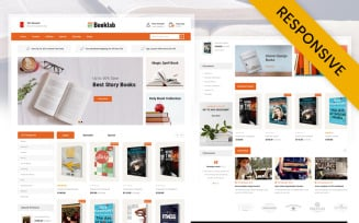 Booklab - Books Store OpenCart Template
