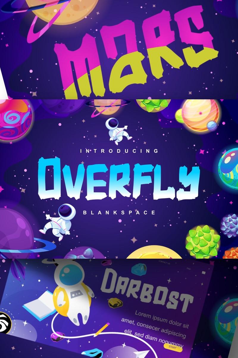 Font Overfly | Blank Space Script #87579