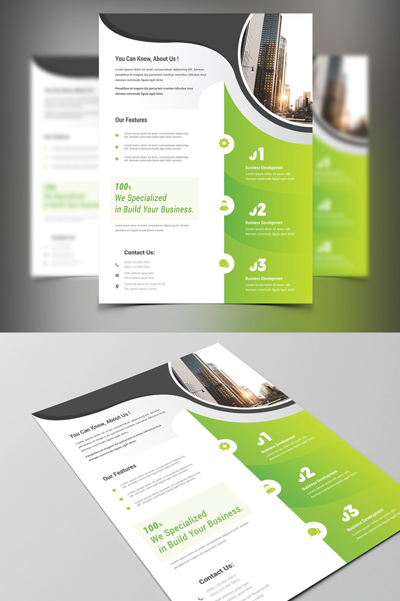 Gronlid Corporate identity-mall #87533
