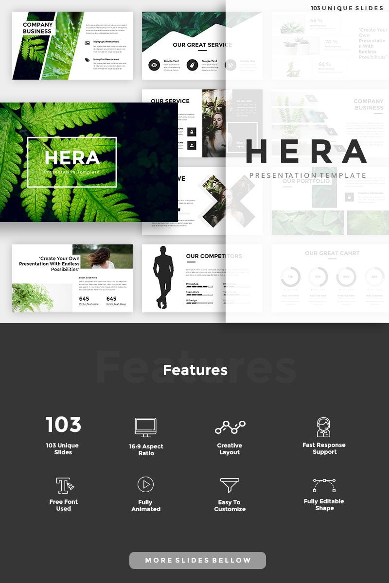 """Hera"" modèle PowerPoint  #87598"