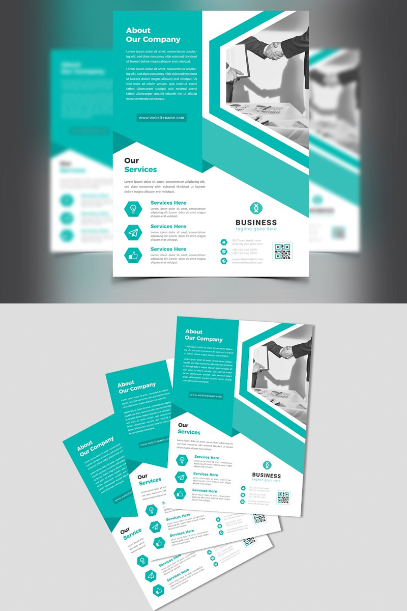 Perevisa Corporate identity-mall #87517