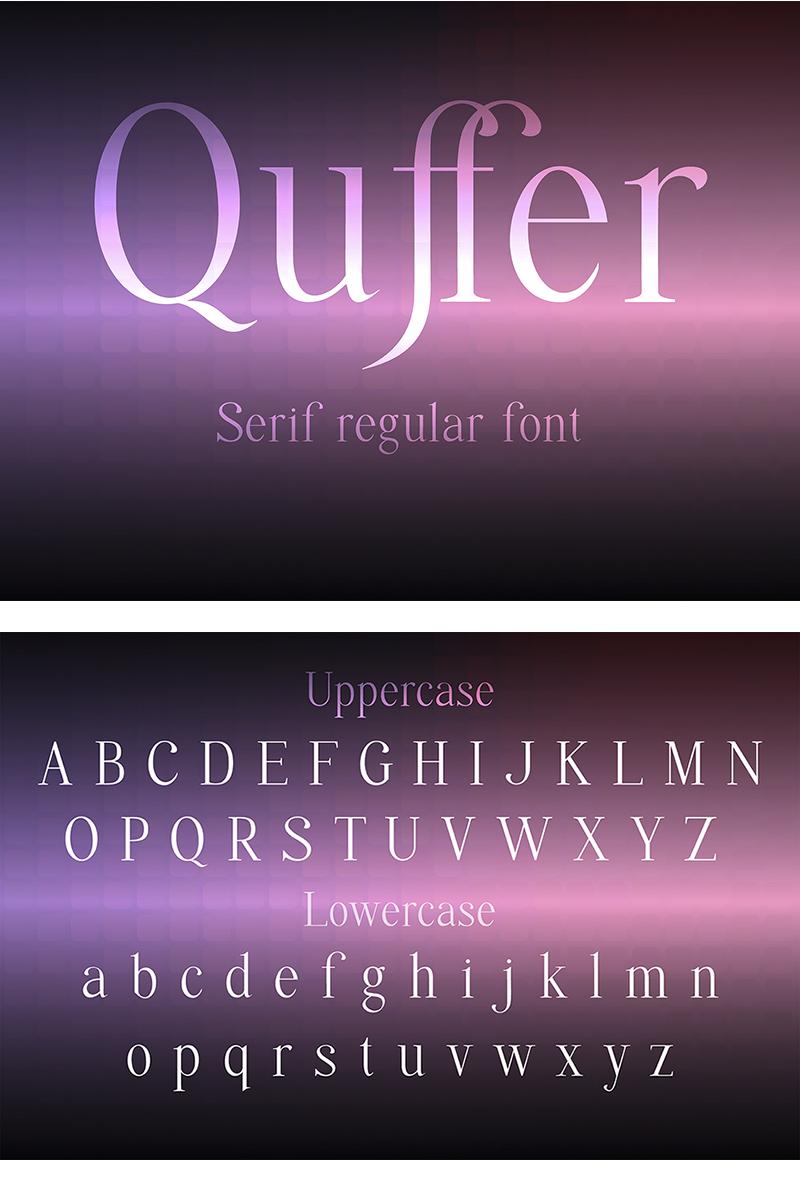 Quffer Betűtípus 87577