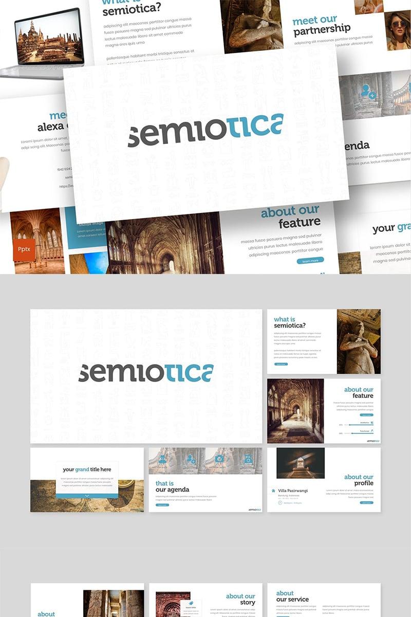 Semiotica Template PowerPoint №87589