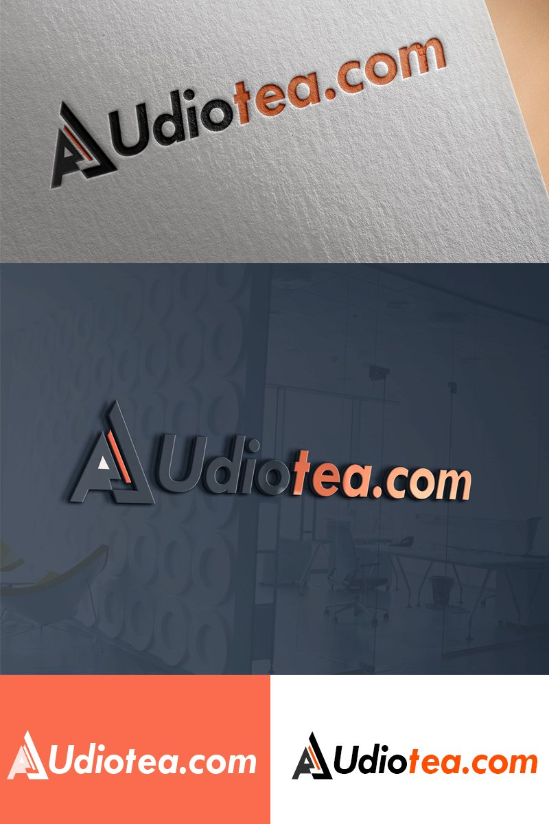 AudioTea - Studio Logo Template