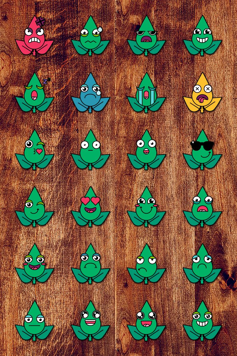 """Eco Smiles Set"" illustration  #87647"
