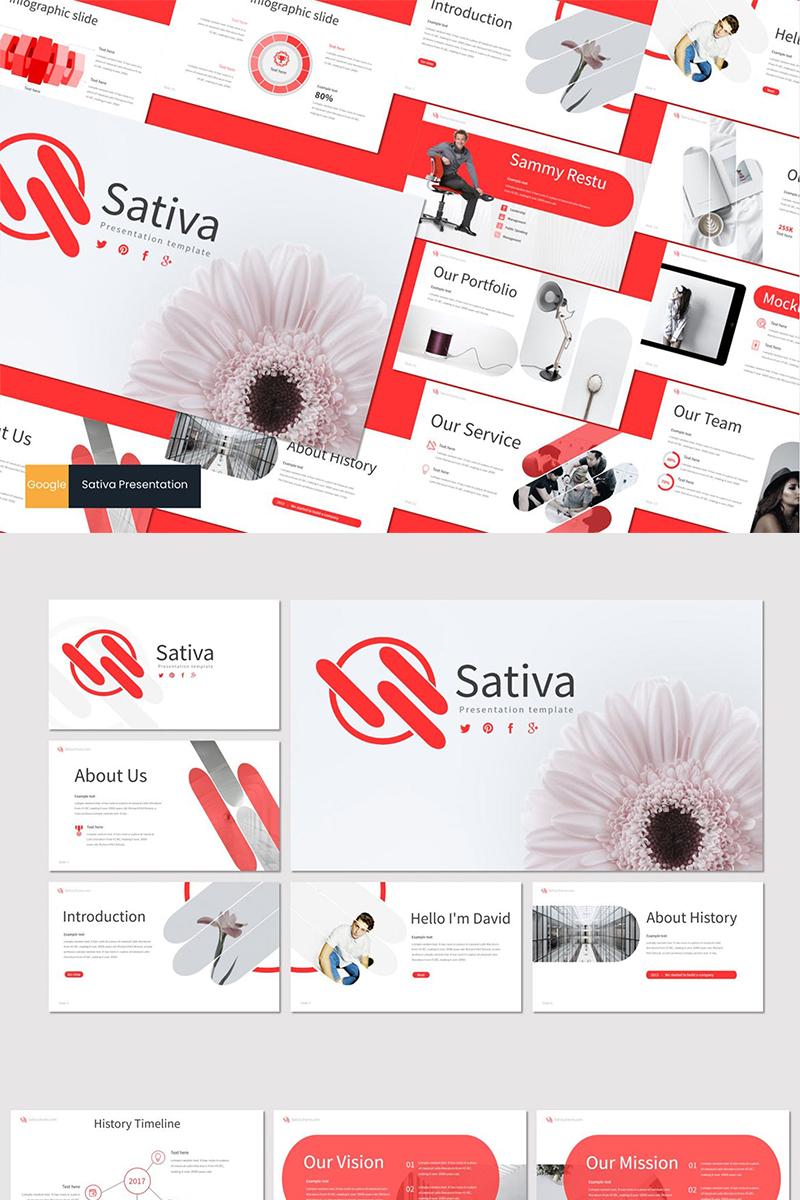"""Google Slides namens """"Sativa"""" #87612"""