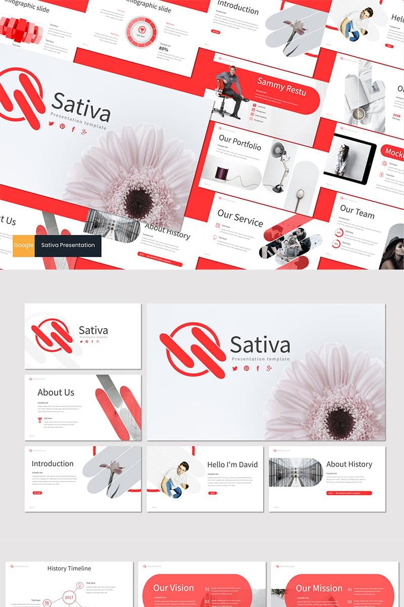"Google Slides ""Sativa"" #87612"
