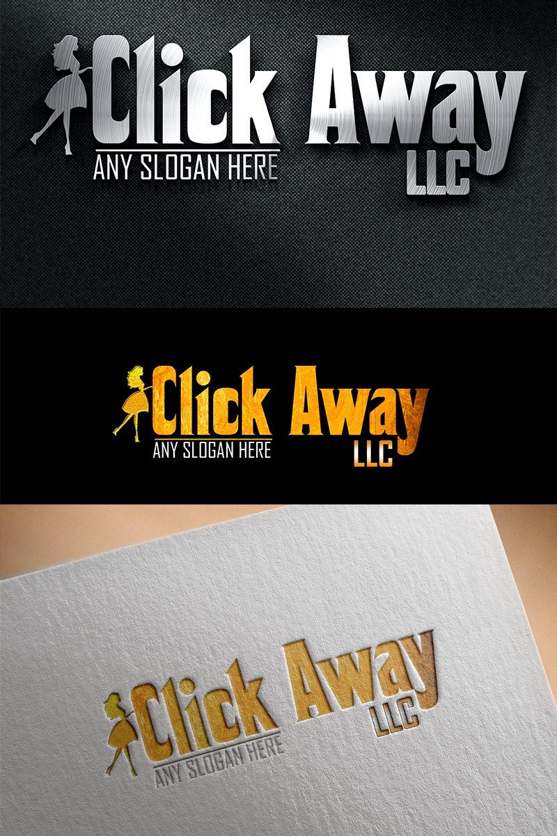 "Luxusní Šablona logotypu ""Clickaway - Wedding"" #87690"