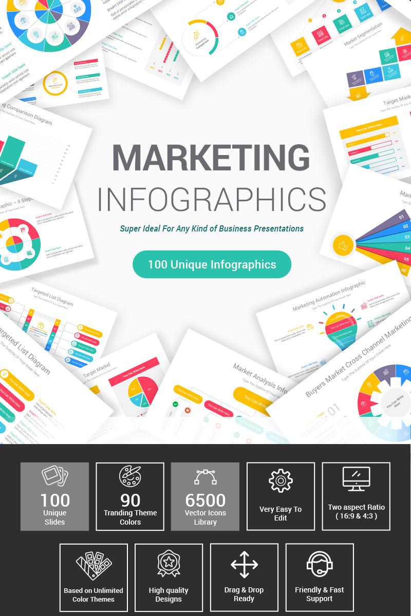 Prémium Marketing Diagrams PowerPoint sablon 87601