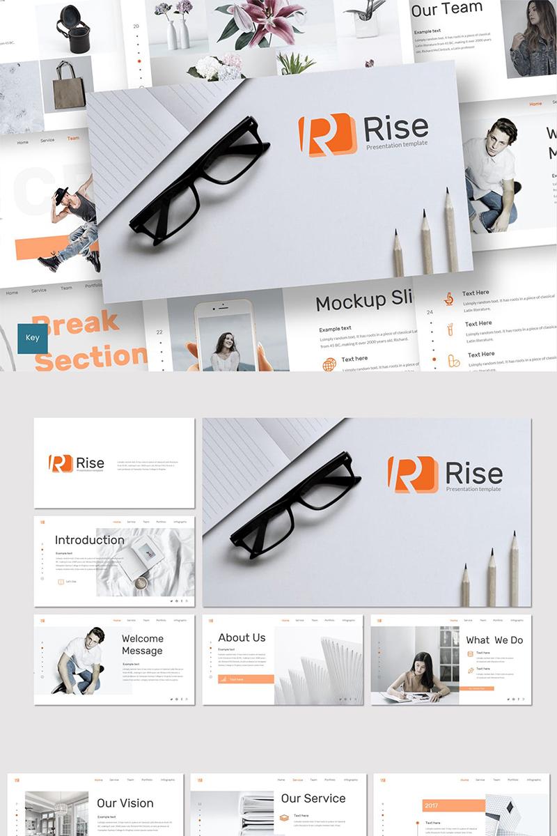 """""""Rise"""" modèle Keynote  #87625"""