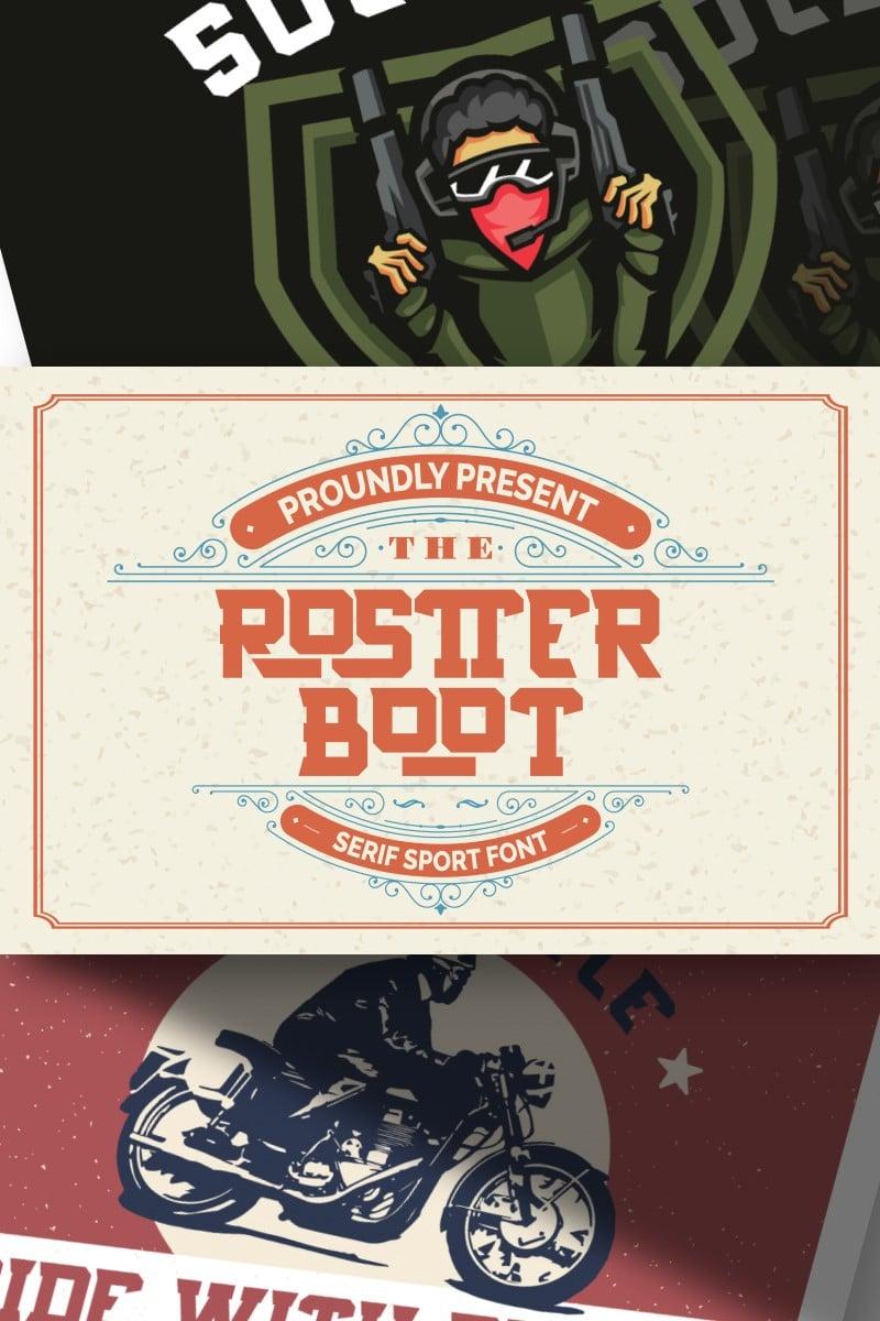 Rostter Boot | Serif Sport Fonte №87652