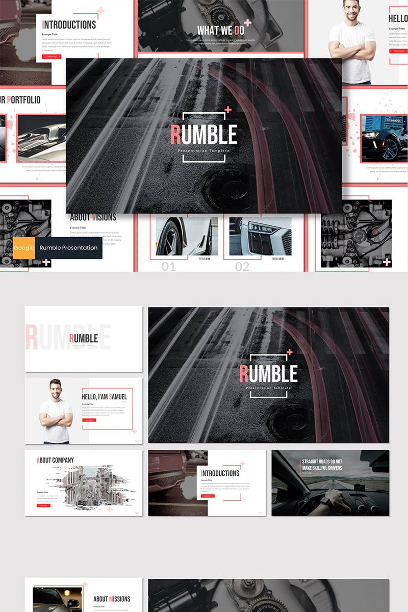 Rumble Google Slides №87614