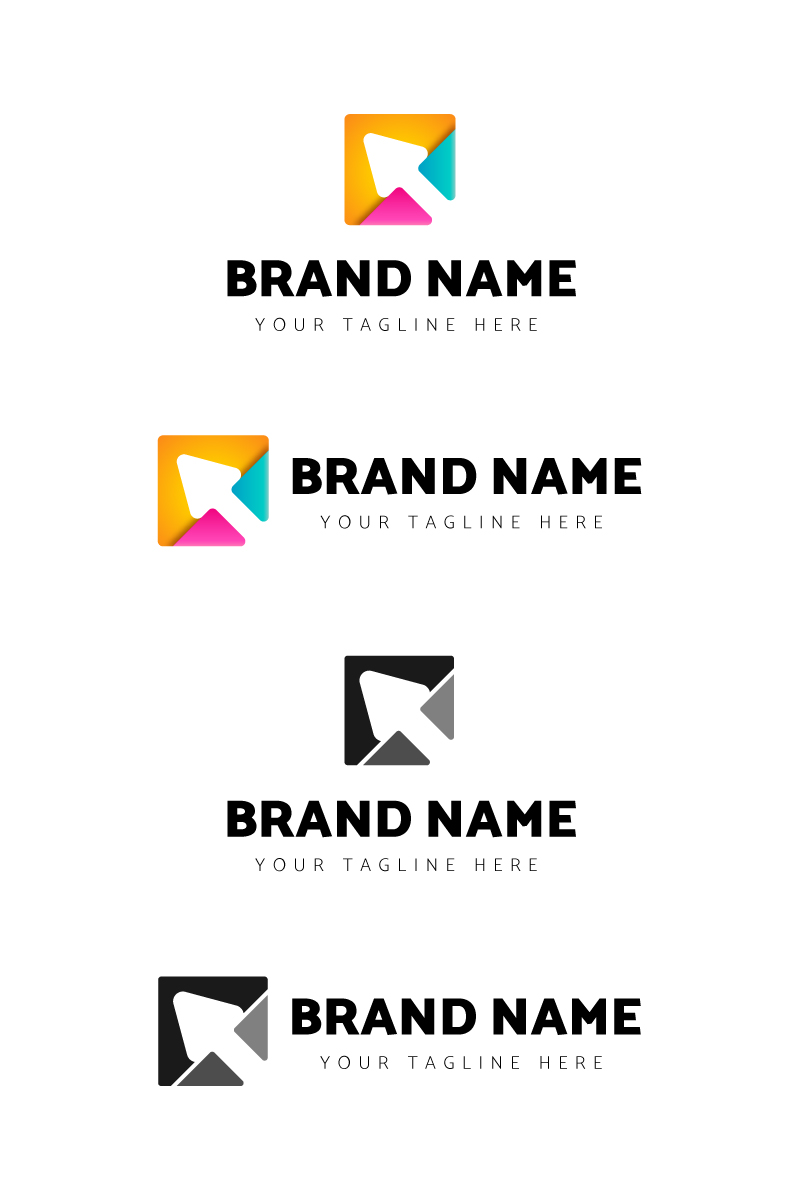 "Šablona logotypu ""Online Store"" #87694"
