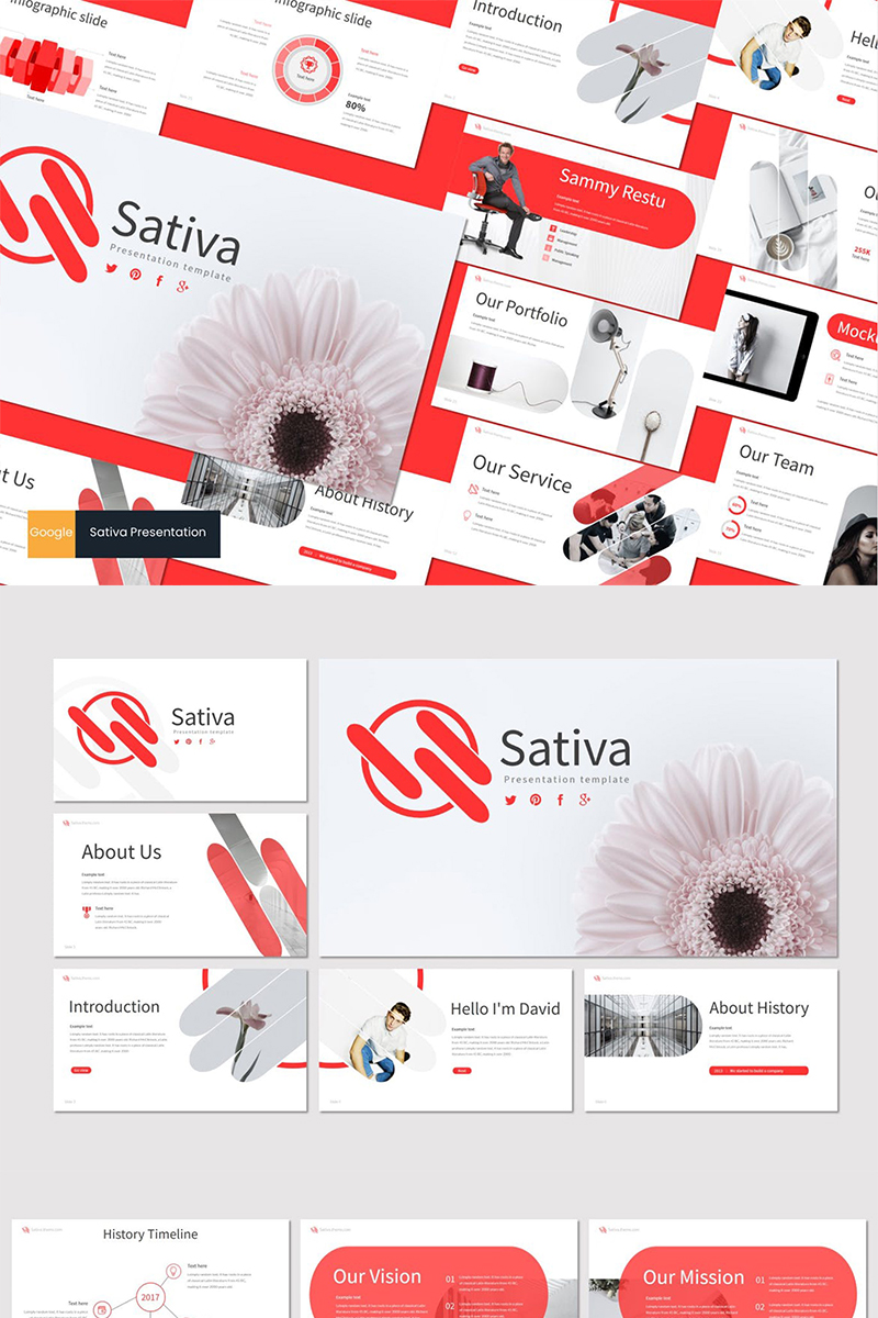 Sativa Google Slides №87612