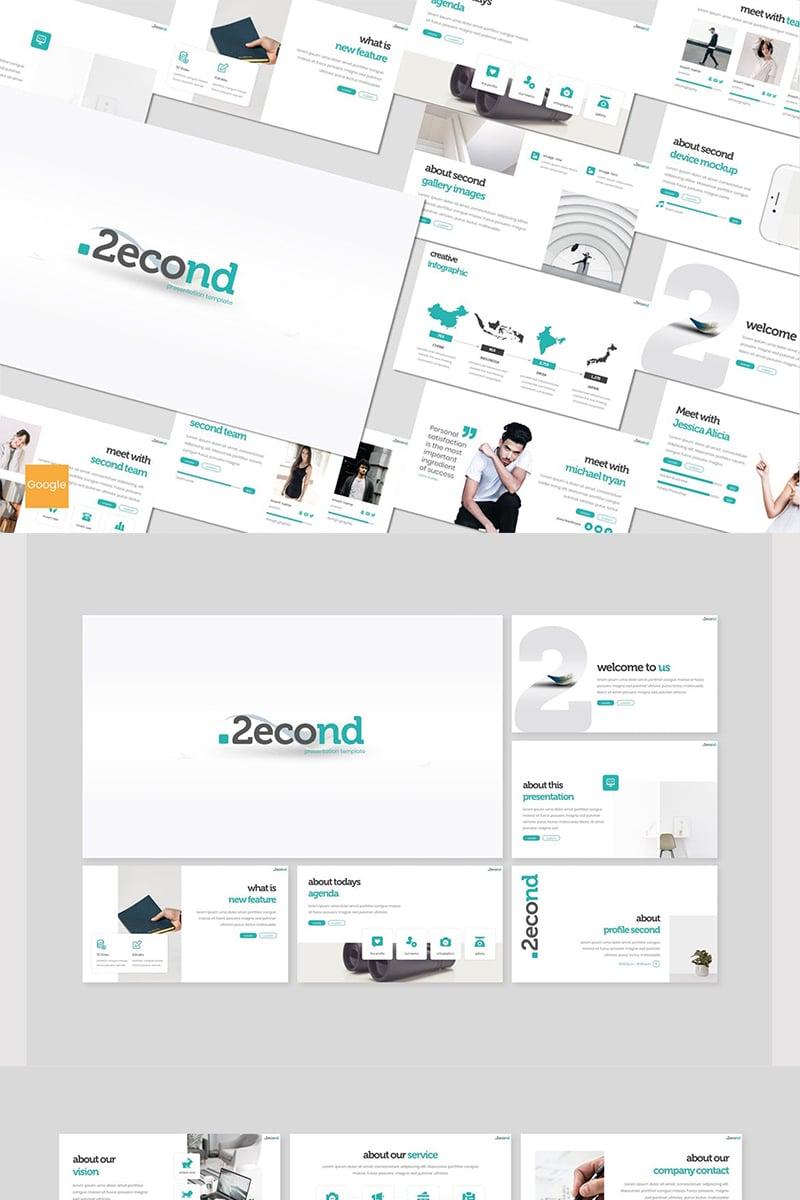 """""""Second"""" Google Slides №87609"""