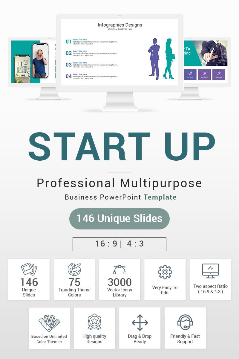 Start up Template PowerPoint №87602