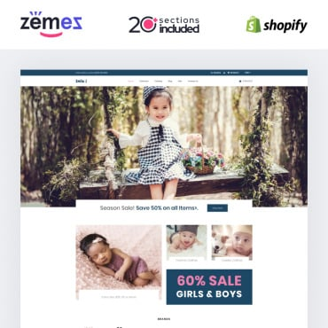 Купить  пофессиональные Shopify шаблоны. Купить шаблон #87739 и создать сайт.