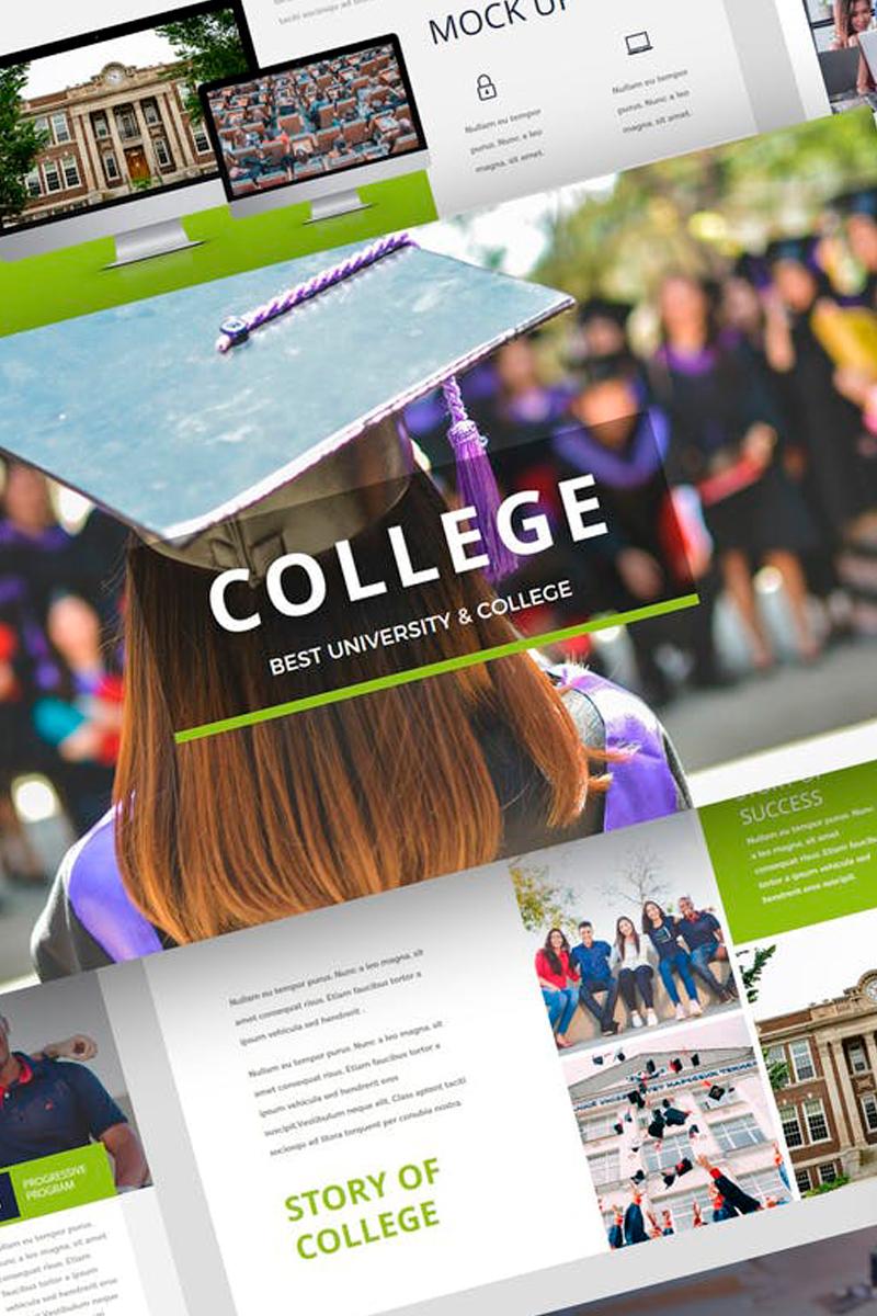 College - University Presentation Keynote Template