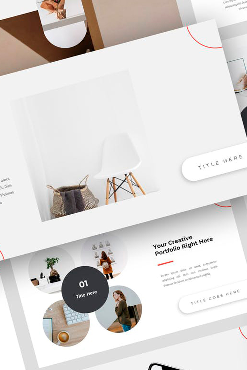 Continent - Creative Presentation Keynote Template #87731