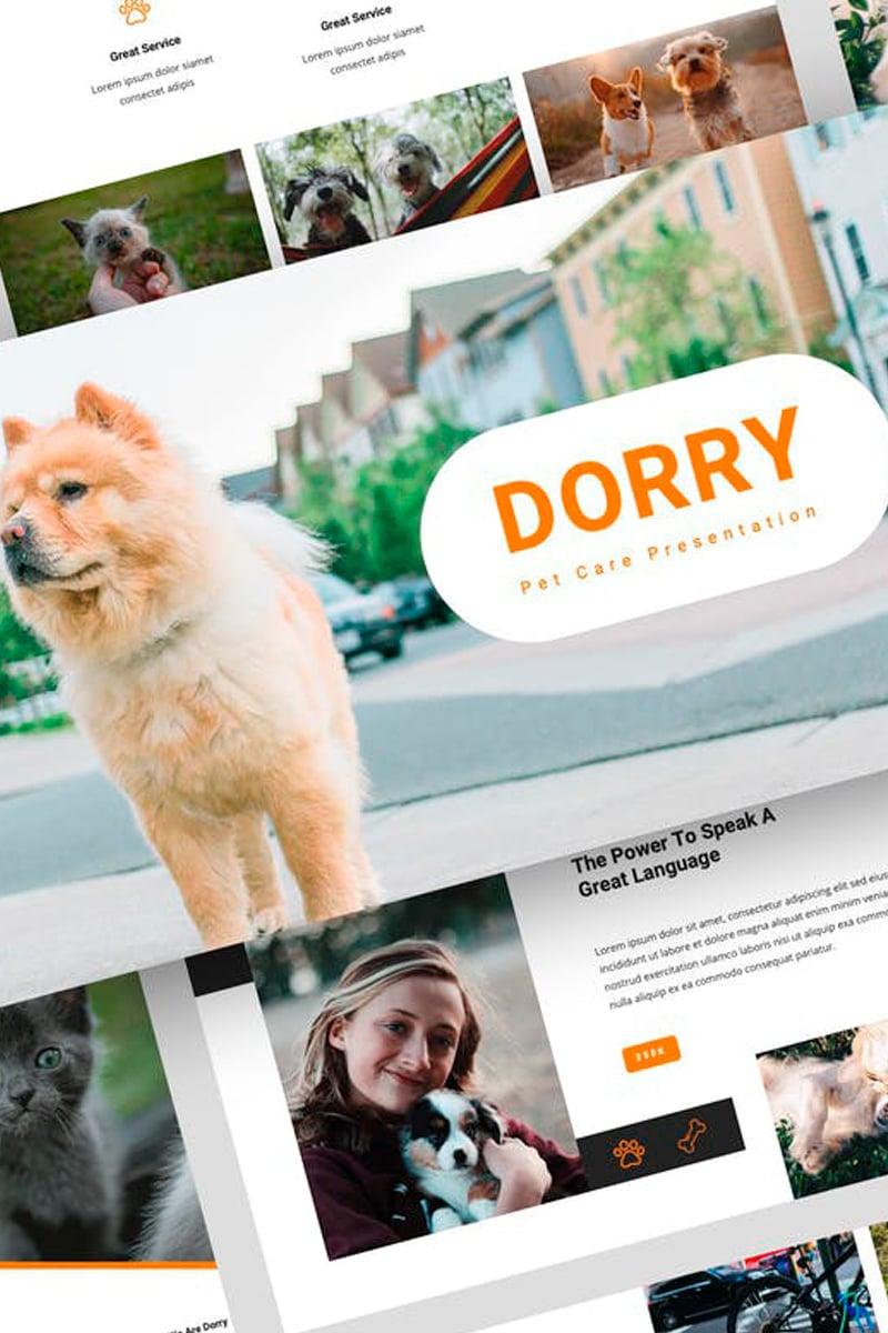 Dorry - Pet Care Presentation Keynote Template #87726