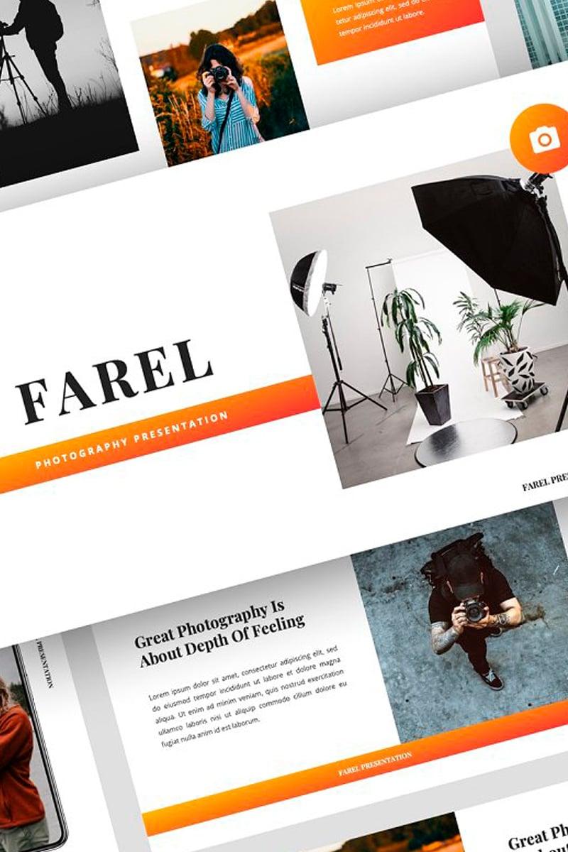 "Plantilla Keynote ""Farel - Photography Presentation"" #87718"