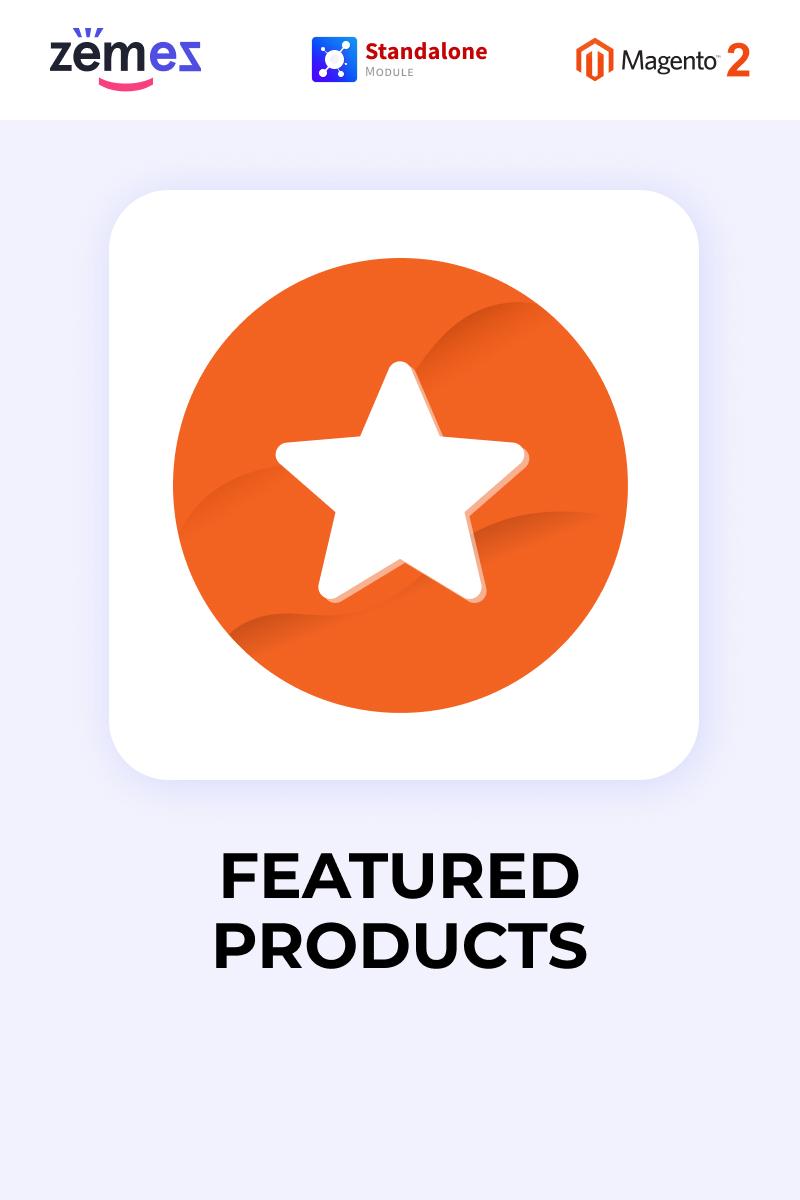 "Responzivní Modul Magento ""Zemez Featured Products"" #87783"
