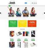 Шаблоны книжных сайтов. Шаблон сайта 87836