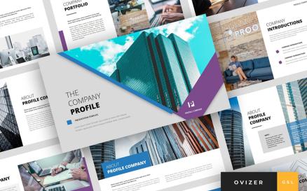 Ovizer - Company Profile Presentation Google Slide