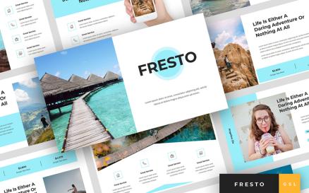 Fresto - Travel Presentation Google Slide