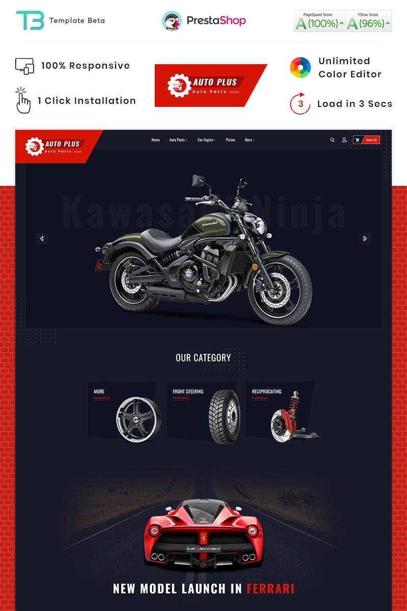 "Tema De PrestaShop ""Auto Plus - Auto part Store"" #87911"