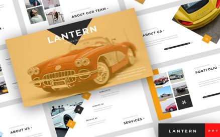 Lantern - Car Dealership Presentation PowerPoint Template