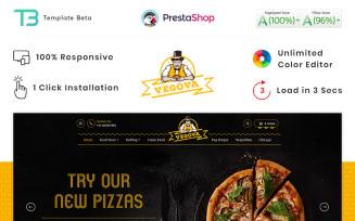 Vegova Food and Restaurant PrestaShop Theme
