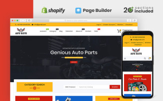 Auto Gusto Parts Store Shopify Theme