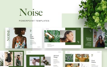 NOISE PowerPoint template PowerPoint Template