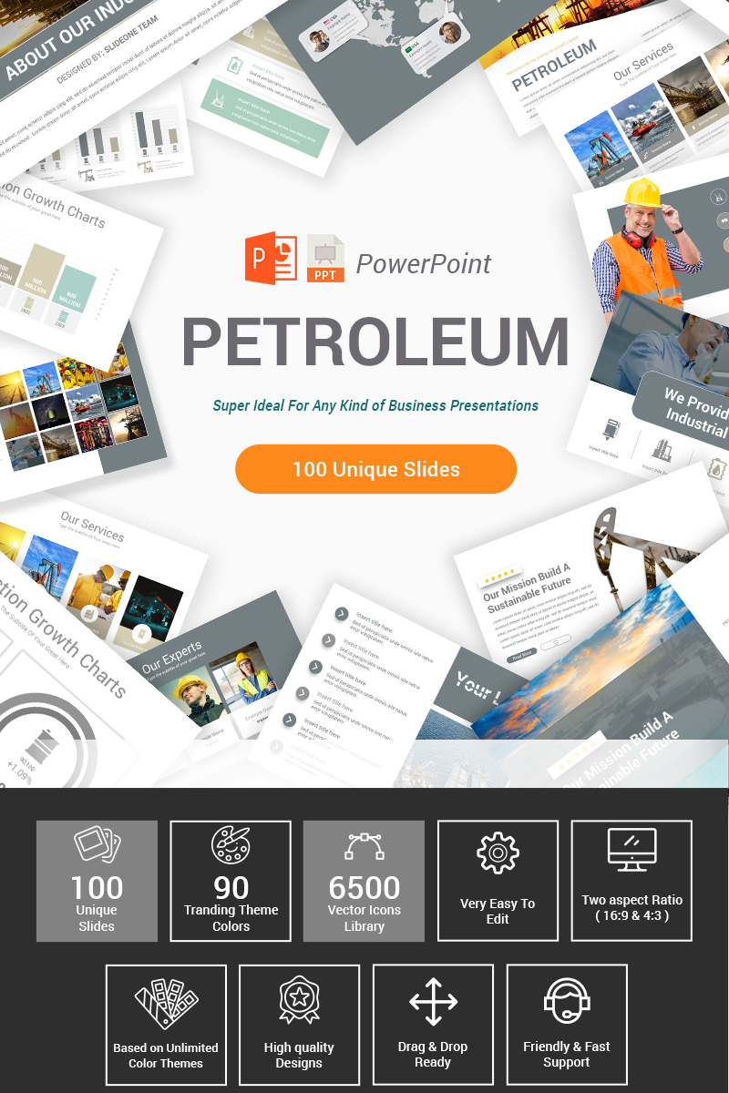 Petroleum Template PowerPoint №88194