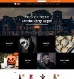Шаблоны к Halloween. Шаблон сайта 88349
