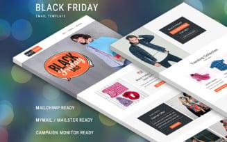 Black Friday – Multipurpose Responsive Newsletter Template
