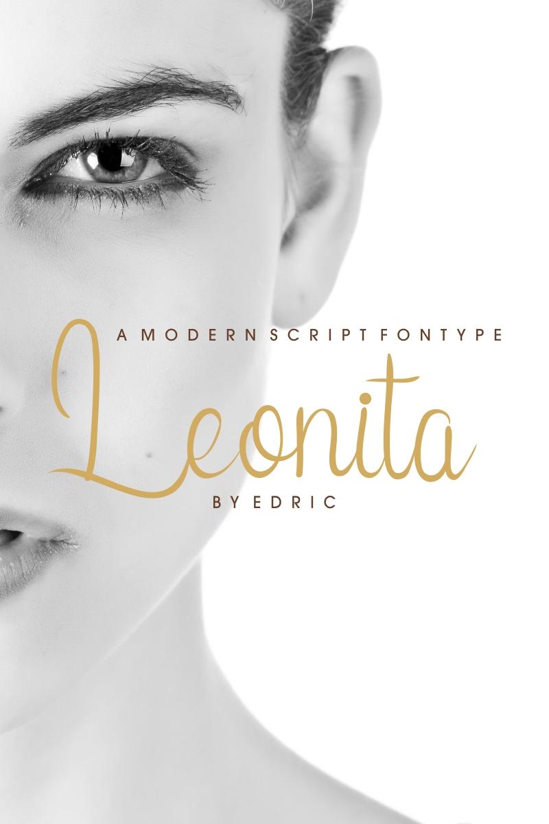 Leonita Yazıtipi #88309 - Ekran resmi