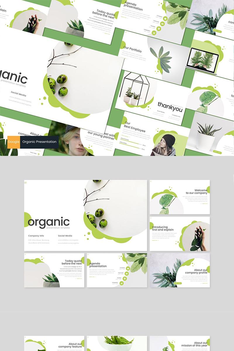 Organic Google Slides - screenshot