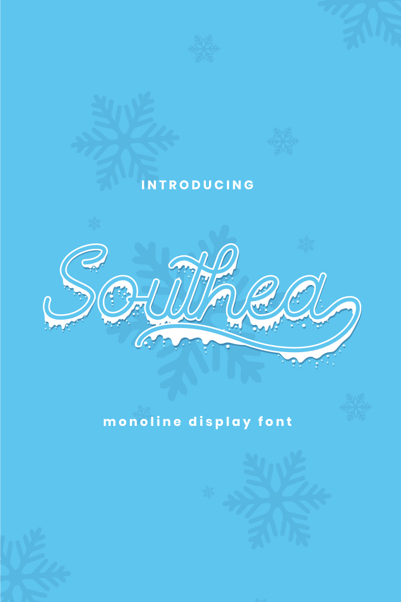 """Southea"" Lettertype №88352"
