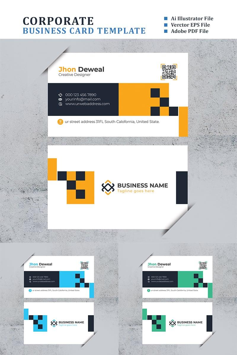 """Tema di Identità Aziendale #88359 """"You Pick Minimal Business Card"""" - screenshot"""