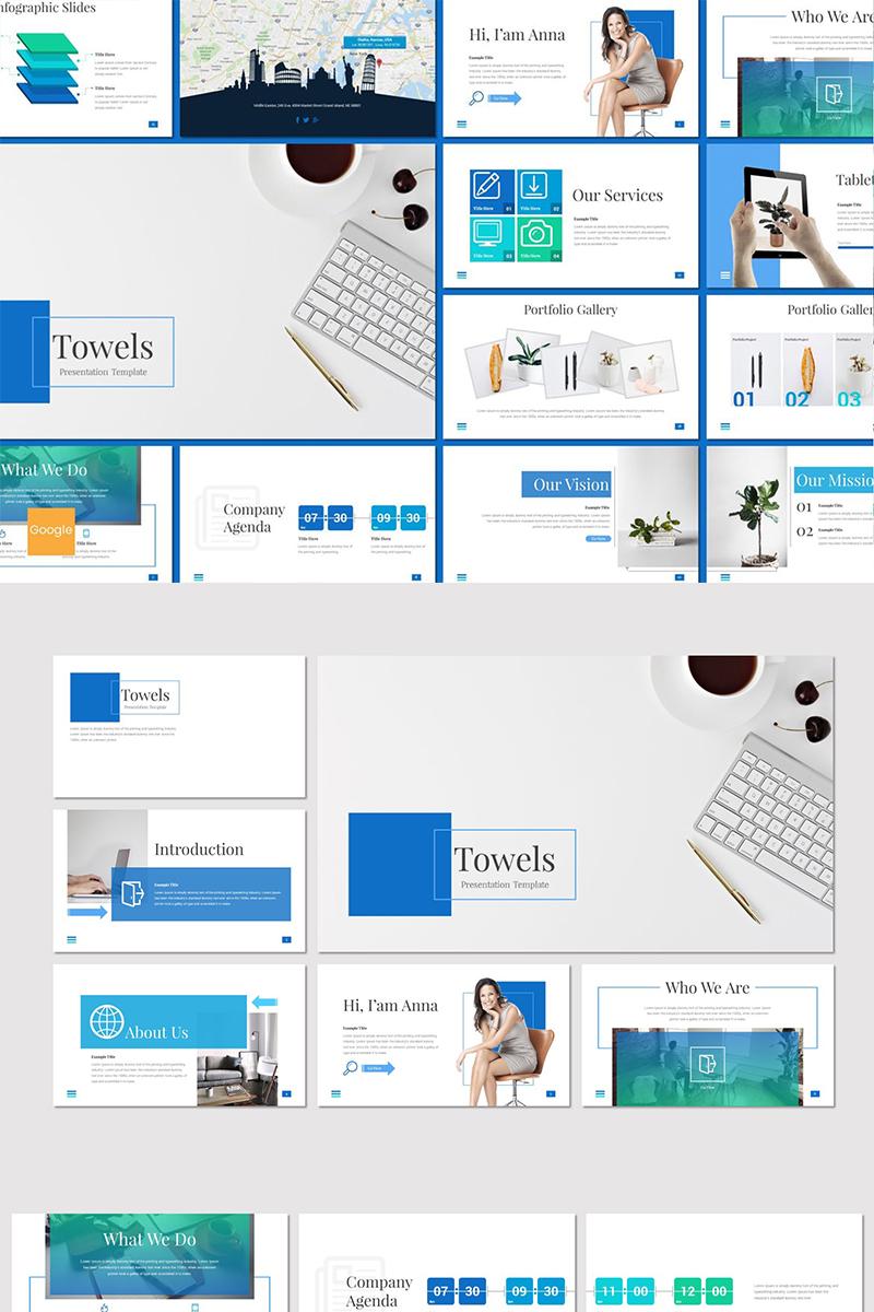 Towels Google Slides - screenshot