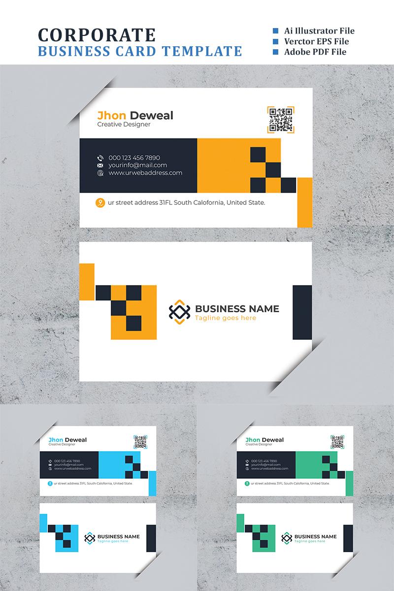 You Pick Minimal Business Card Template de Identidade Corporativa №88359 - captura de tela