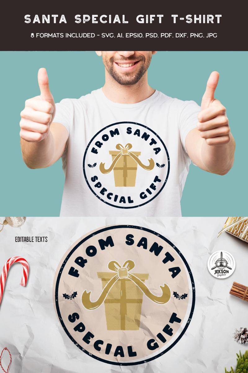 From Santa Special Gift T-shirt - screenshot