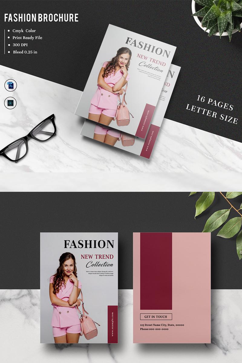 Sistec Fashion Lookbook Magazine Márkastílus sablon 88487