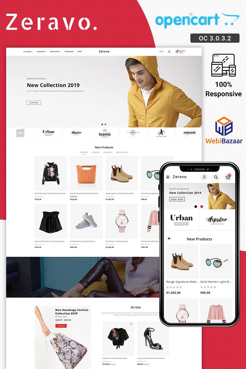 Zeravo Fashion Responsive №88451