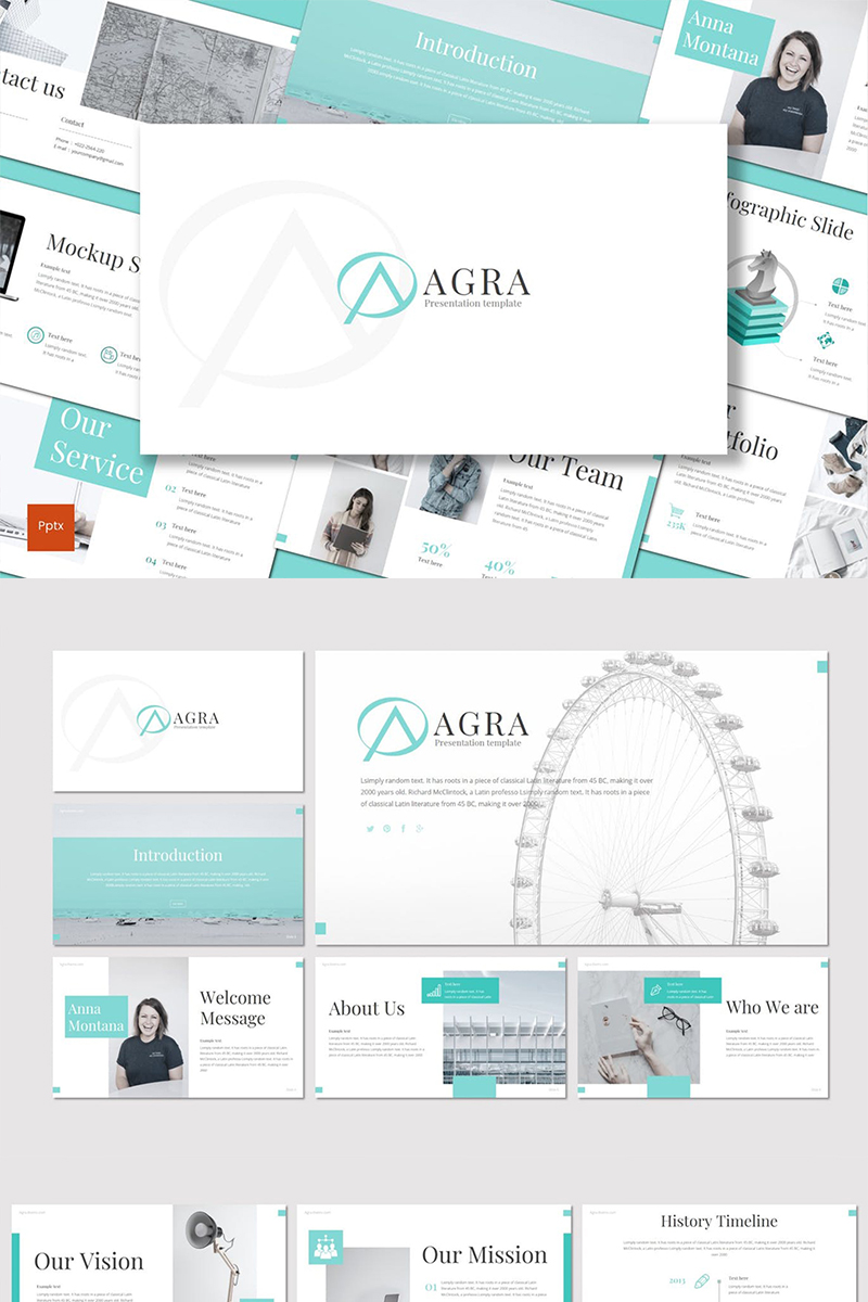 Agra PowerPoint Template