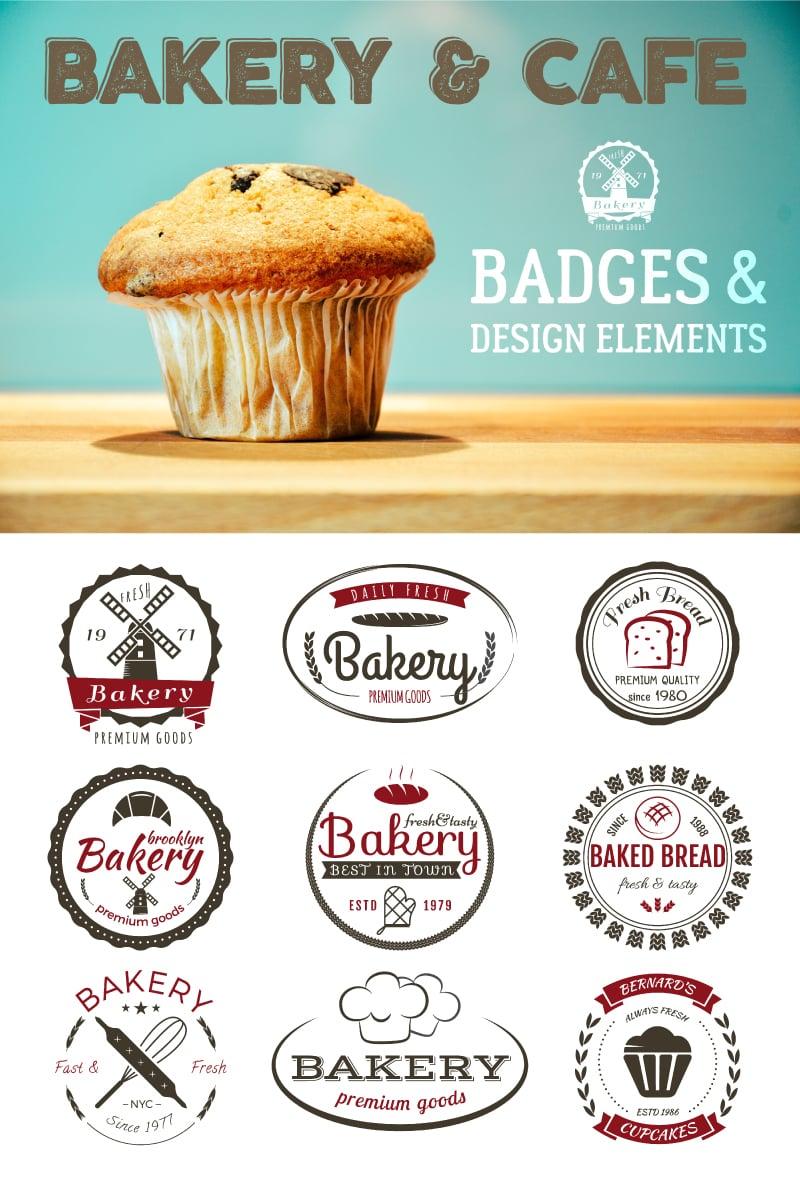 Bakery Bundle. SVG Vector Logo Template - screenshot